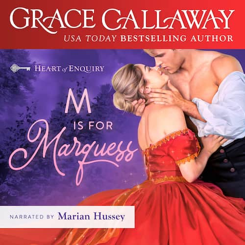 Audiobook cover for M is for Marquess (audiobook) by Grace Callaway
