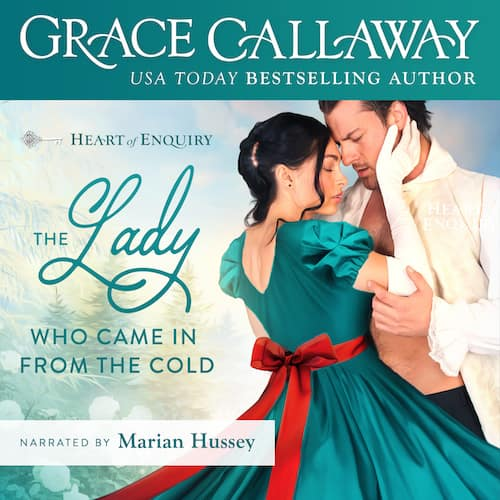 Audiobook cover for The Lady Who Came in from the Cold (audiobook) by Grace Callaway