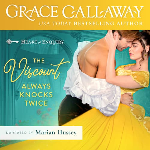 Audiobook cover for The Viscount Always Knocks Twice audiobook by Grace Callaway