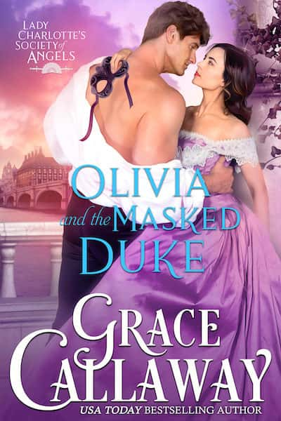 Book cover for Olivia and the Masked Duke by Grace Callaway