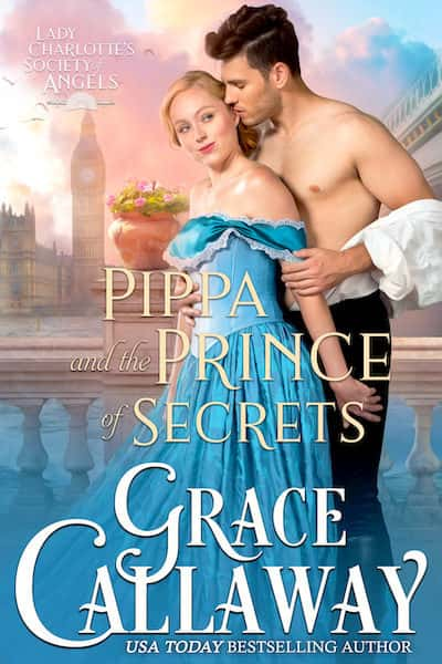 Book cover for Pippa and the Prince of Secrets by Grace Callaway