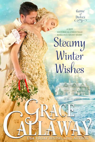 Book cover for Steamy Winter Wishes by Grace Callaway