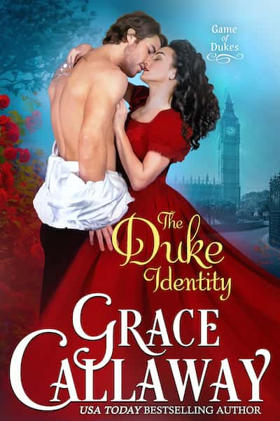 Book cover for The Duke Identity by Grace Callaway