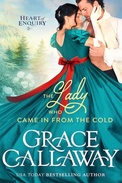 Book cover for The Lady Who Came in from the Cold by Grace Callaway