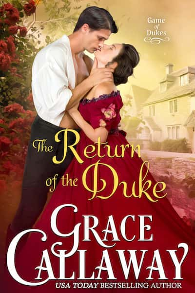 Book cover for The Return of the Duke by Grace Callaway