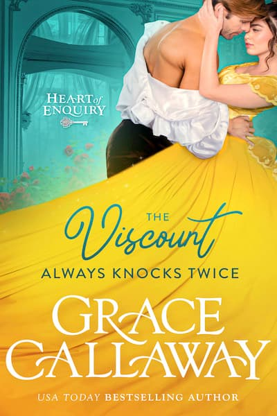 Book cover for The Viscount Always Knocks Twice by Grace Callaway