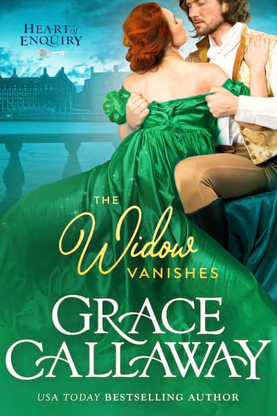 Book cover for The Widow Vanishes by Grace Callaway